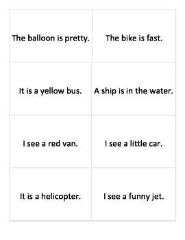 Vocabulary for Transportation