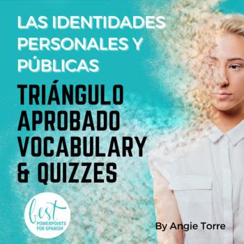 Vocabulary for Triángulo Aprobado, Las identidades persona