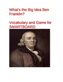 Vocabulary for What's the Big Idea Ben Franklin