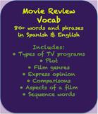 Vocabulary for movie reviews