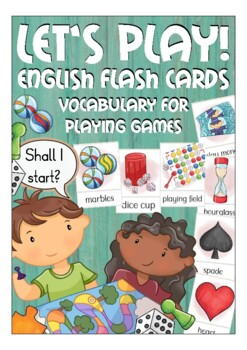 Vocabulary for playing games - ESL / English Kate Hadfield