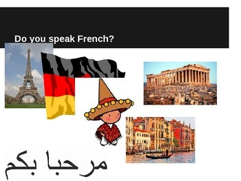 Vocabulary from Foreign Languages - ESL Powerpoint