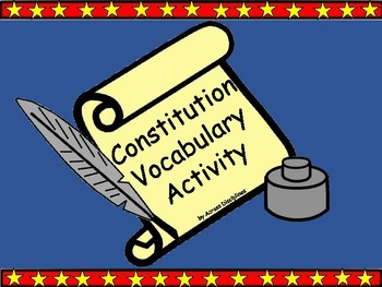 Vocabulary from the Constitution
