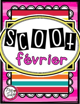 French Vocabulary Game - SCOOT février