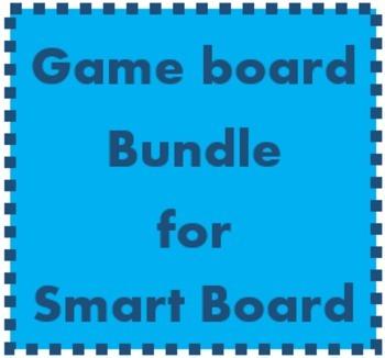 Vocabulary Game boards for Smartboard Bundle