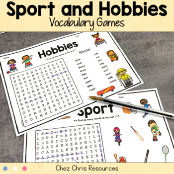 Vocabulary Games - Hobbies and Sports
