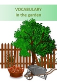 Vocabulary (gardening tools worksheet with pictures)