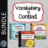 Context Clues Vocabulary BUNDLE