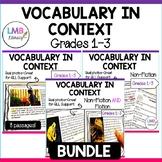 Vocabulary in Context Bundle, Gr.1-3, Vocabulary Activitie