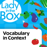 Vocabulary in Context with Lola and Squeak- Boom Cards