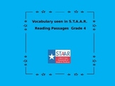 Vocabulary in Grade Four S.T.A.A.R. Reading Passages