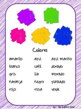Vocabulary in Spanish