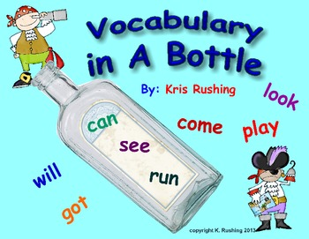 Vocabulary in a Bottle