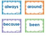 Vocabulary list - 2nd grade sight words