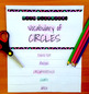 Vocabulary of Circles Flip Book