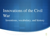 Vocabulary of Civil War Innovations