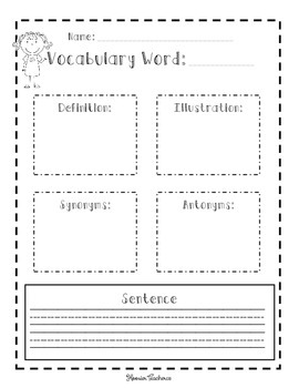 Vocabulary of the Day