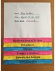 Vocabulary of the Week Flip Book