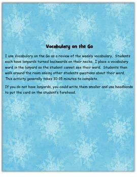 Vocabulary on the Go