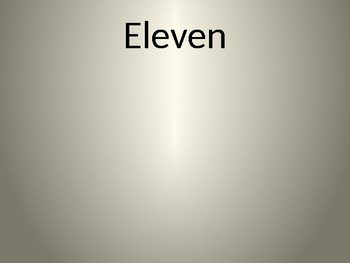 Vocabulary powerpoint for Eleven by Sandra Cisneros
