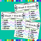 Weekly Vocabulary Wall For An Entire Year.  Over 440 Words!