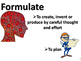 Vocabulary word wall--verbs