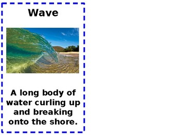 Vocabulary words Ocean Currents