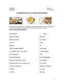 Vocabulary words & conversational phrases for ordering food: Multimedia