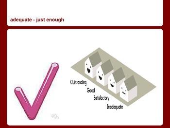 Vocabulary words for ESL