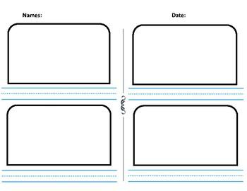 Vocabulary write & draw