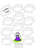 Vocabulary/Synonym/Antonym Volcano Recording Sheet