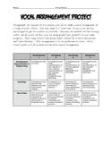 Vocal Arrangement Project