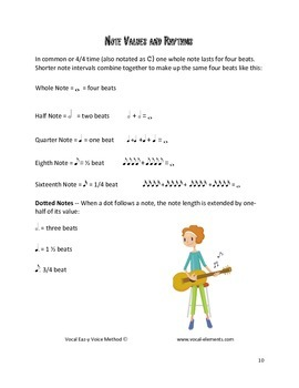 Vocal Eaz-y music curriculum for children
