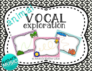 Vocal Exploration - Animals