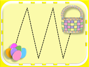 Vocal Exploration: Easter- bunny needs to get eggs to the basket!