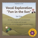 Vocal Exploration – Fun in the Sun - Set 1