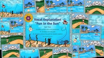 Vocal Exploration – Fun in the Sun - Set 2