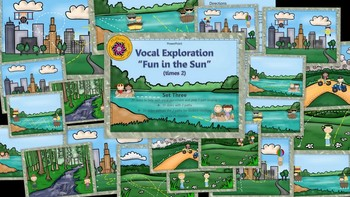 Vocal Exploration – Fun in the Sun (times 2) - Set 3