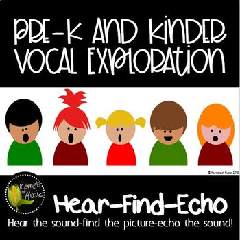 Vocal Exploration: Hear-Find-Echo