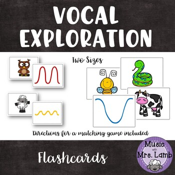Vocal Exploration Matching Flashcards