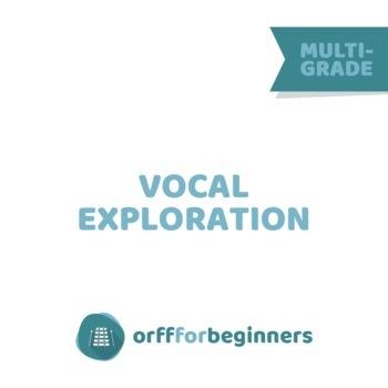 Vocal Exploration Mini Lessons