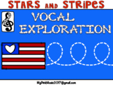 Vocal Exploration: Patriotic- cheer for red, white & blue
