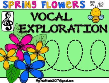 Vocal Exploration: Spring Time- help the bee pollinate the flowers
