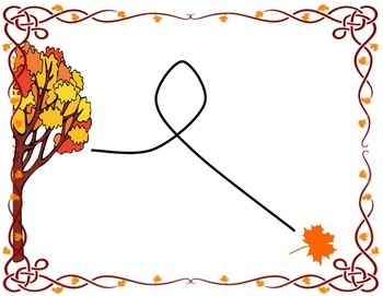Vocal Exploration Visuals and Worksheet: Autumn Theme