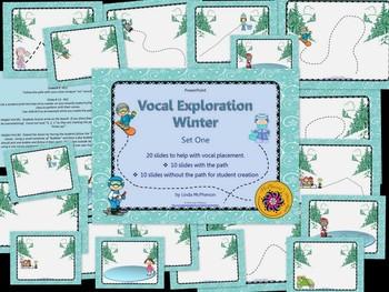 Vocal Exploration – Winter - BUNDLE