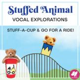 Vocal Exploration with Stuffed Animals! Google Slides Version