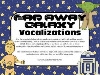 Vocal Exploration/Singing Visual Aids: Far Away Galaxy
