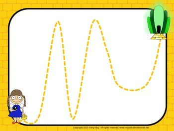 Vocal Exploration/Singing Visual Aids:  Yellow Brick Road