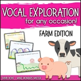 Vocal Explorations - Farm Edition