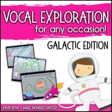 Vocal Explorations - Galactic and Space Edition